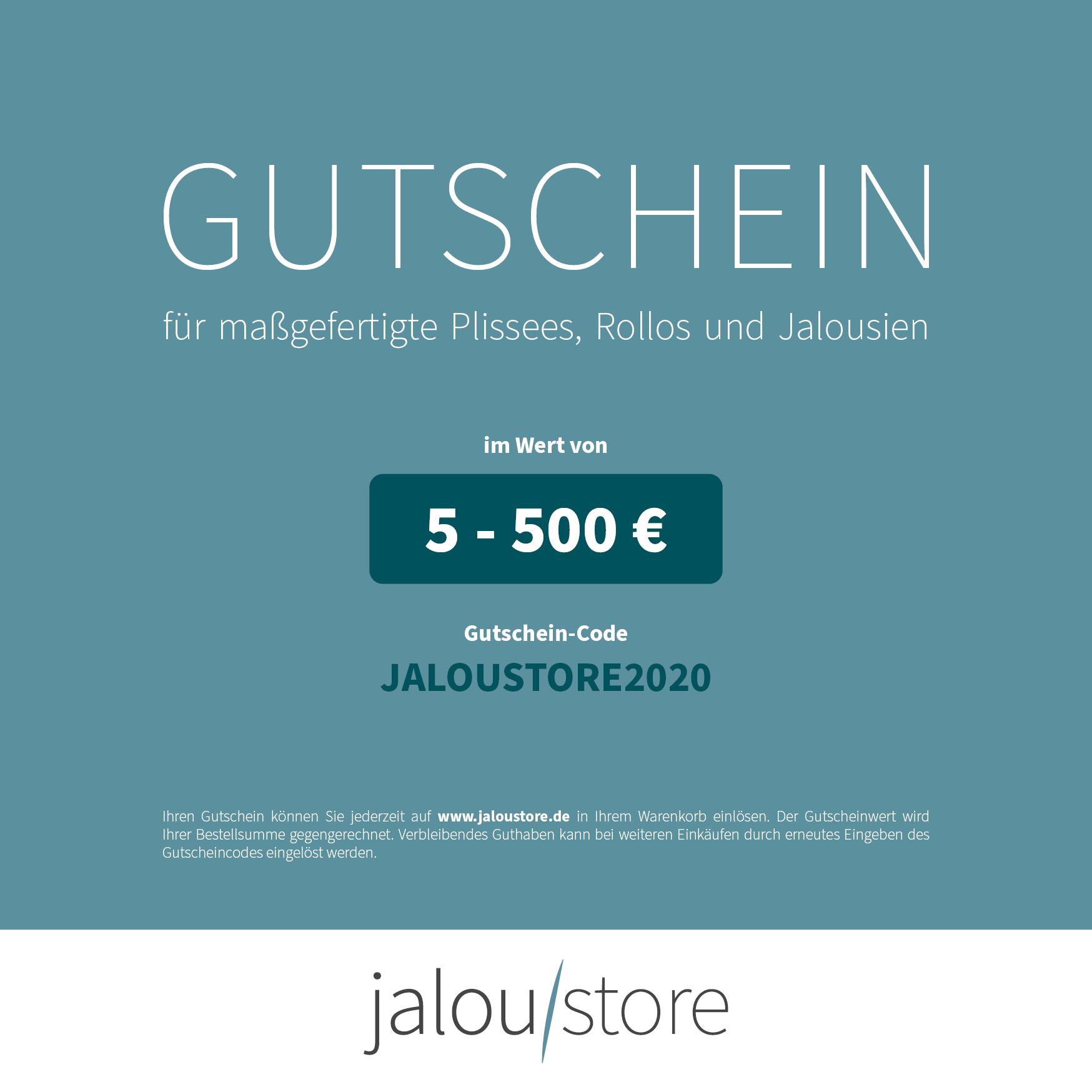 Jaloustore Digitaler Geschenkgutschein - Bild 0